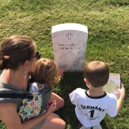 Charlie's grandfather's grave