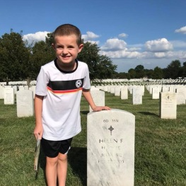 Charlie's grandmother's grave